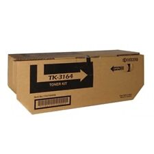 2x Kyocera Genuine Tk-3164 Black Toner for ECOSYS P3045dn - 12 500 Pages