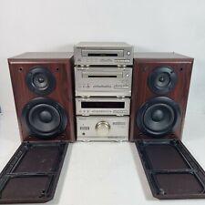 Technics HD301 Hi-Fi Stereo System Amplifier CD Cassette Tuner Speakers VGC
