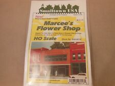 HO SCALE RIX/SMALL TOWN USA 699-6016 MARCEE'S FLOWER SHOP STRUCTURE KIT