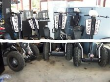 5 Segways X2 from Panama City Police Dept.