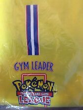 NIP Men's Vintage Yellow POKEMON League Gym Leader T-Shirt in XL