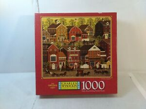 Milton Bradley Charles Wysocki's Americana Old New England Puzzle gm1473