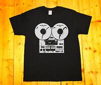 Retro tape recorder, reel-to-reel, stereo tape deck pioneer, Shoegazer T-SHIRT