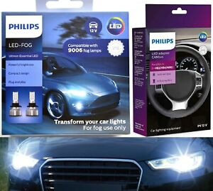Philips Ultinon LED 40W Canceller 9006 HB4 Two Bulbs Fog Light Lamp Upgrade OE