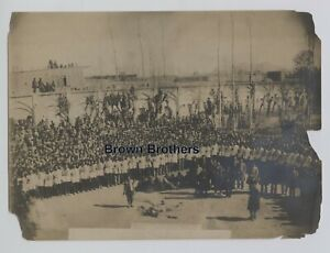 Vintage 1910s Persia Iran Brutal Execution of Criminals in Persia Photo - BB