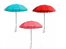 Ombrellino per passeggino universale ombrello parasole diametro 70cm vari colori