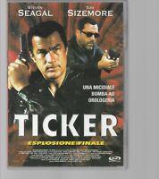 DVD TICKER ESPLOSIONE FINALE, STEVEN SEAGAL