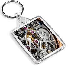 Uhrwerk Schlüsselanhänger-ip02-Gears mechanical elektronische Uhren Geschenk #16627