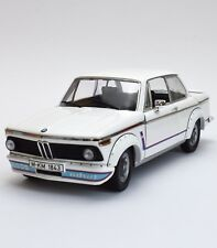 Anson Top Rare BMW 2002 Turbo Sport coupé en blanc laqué, neuf dans sa boîte, 1:18, k020