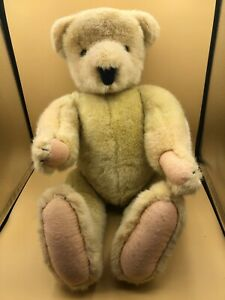 Vintage Cornelius Vanderbear Plush Stuffed Toy Doll North American Bear 1982
