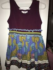 Matilda Jane Elevated Tank Dress Size 2 Paint By Numbers Hot Air Balloon Cute!