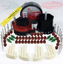 Delphi Weatherpack ( 22-Conductors ) Terminal Kit 18-20 GA, W/ Tool, +3M Tape