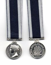 ROYAL NAVY LONG SERVICE & GOOD CONDUCT MEDAL VICTORIA - A SUPERB MINIATURE