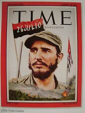 FIDEL CASTRO CUBA JANUARY 26 1959 TIME MAGAZINE COVER PAGE PHOTO ON 4X6 GLOSSY