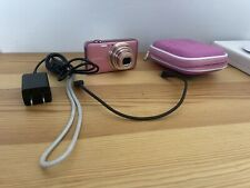 Sony Cyber-shot DSC-WX70 16.2MP Digital Camera - PINK w/Case and Charger
