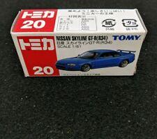 Tomy Tomica Nissan Skyline GT-R R-34 No.20 1/61 Rare Vintage Model