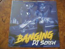 "DJ SCREW ""Banging"" Blue Vinyl 180 Gram Press Houston Texas SEALED NEW"