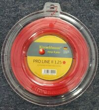 Kirschbaum Pro Line II 17 Gauge 1.25mm 660' 200m Tennis String Reel Red