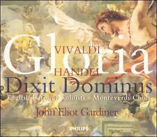 Vivaldi - Gloria · Handel - Gloria · Dixit Dominus / English Baroque Soloists ·