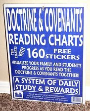 *NEW* DOCTRINE AND COVENANTS READING CHARTS DAILY STUDY SYSTEM LDS MORMON