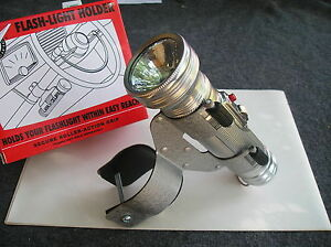 NEW VINTAGE STYLE COLUMN FLASH LIGHT AND HOLDER SET !
