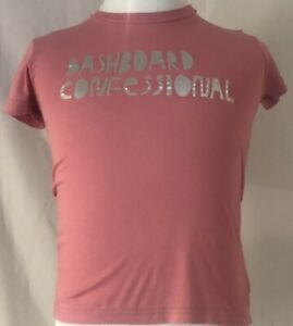 Dashboard Confessional 2006 Dusk To Summer Tour Shirt Ladies Large