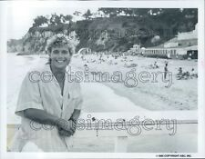 1985 Actor Christopher Atkins in Rock n Roll Summer Action 1980s TV Press Photo