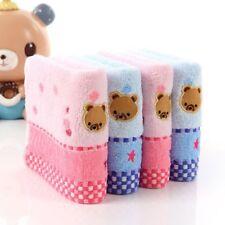New Bear Untwisted Cotton Bath Face Towel 25 * 50cm Jacquard Pattern Cartoon Kid