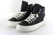 Converse Chuck Taylor AS Hi Street Hiker Black White Leder Fulton 42,5 / 43 US9