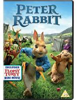 Peter Rabbit DVD (2018) Domhnall Gleeson, Gluck (DIR) cert PG ***NEW***