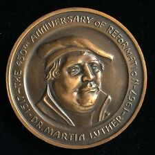 New Listing450th Anniversary of the Reformation, Canadian Centennial Medal, Martin Luther 1