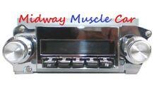69 70 71 72 Pontiac GTO Lemans G/P Digital AM/FM radio stock dash 4 ch USB Mp3