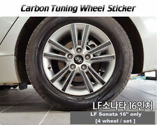 "Carbon Tuning Wheel Mask Sticker For Hyundai LF Sonata 16"" [2014~on]"