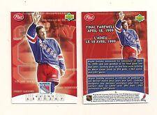 1999-2000 Upper Deck / Post Cereal Wayne Gretzky #6