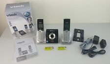 VTECH LS6325-2 Cordless Phone Expandable Digital Answering System w/ 2 Handsets