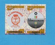 PANINI CALCIATORI 2004-05- Figurina n.725- CARPENEDOLO+CASALE -SCUDETTO-NEW