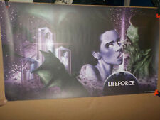 Lifeforce Scream Factory Lithograph Poster 28.5x16.5 Tobe Hooper