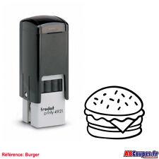 Tampon pour Cartes de fidélité BURGER - Friterie Snack Hamburger Trodat 4921