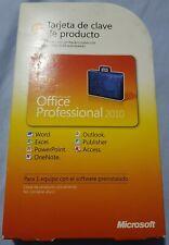 Microsoft Office 2010 Professional DVD + Licencia