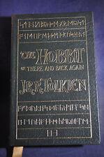 The Hobbitt by JRR Tolkien - Easton Press