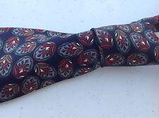 Awesome Christian Dior Monsieur Men's Neck Tie Dark Grayish Blue  Silk  B39