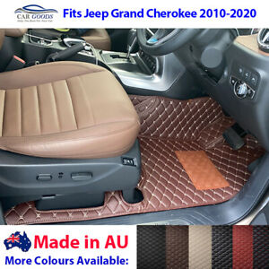 3D Customised Floor Mats Multi-Colours for Jeep Grand Cherokee 2010-2020