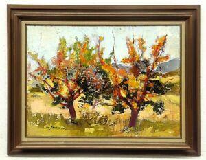 Michel Jouenne, huile sur toile, format 54 par 73 cm, excellent état, encadré.