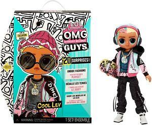 LOL Surprise OMG Guys Fashion Doll Cool Lev 20 Surprises Jul.7, 21