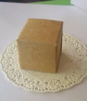 Wedding rustic ivory/cream vintage favor gift boxes- pack of 50
