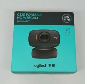 Logitech C525 Webcam 720p HD wired USB Computer Portable HD Autofocus Camera