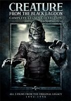 Creature From the Black Lagoon: Complete Legacy Collection [New DVD] Slipsleev