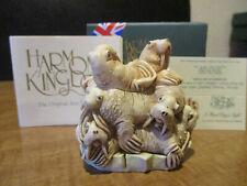 Harmony Kingdom A Hard Day's Night Walrus Pile Uk Made Box Figurine