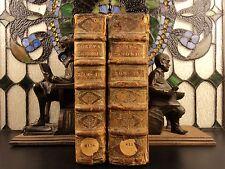 1695 Pope Gregory Ix Corpus Juris Canon Law Énorme 2v Set Inquisition Decretals