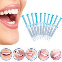 10 Pcs Teeth Whitening Gel 44% Peroxide Dental Bleaching Dental Care~